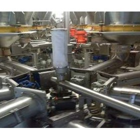 Food-Grade Stainless Steel Tubular Screw Conveyors | TXF