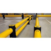 Safety Barriers I mFlex Double Traffic Barrier