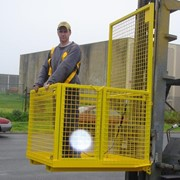 Safety Cage Forklift Attachment Fully Welded – DHE-FSCW