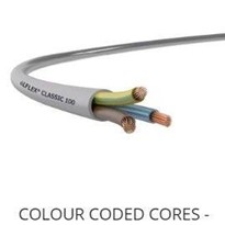 Flexible Gray Control Electrical Cables