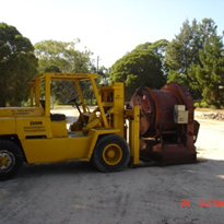 Tight Access Forklifts for Hire with Operator Sydney / NSW