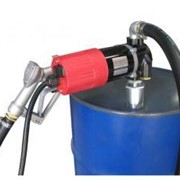 12V Diesel Drum Pump Kit with manual nozzle - 80LPM