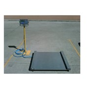 Platform Scales | Drop Deck Stainless Steel 1250 x 1250 (mm)