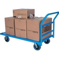 Heavy Duty Stainless Steel Flat Deck Trolleys – 1100 x 600mm