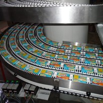 The worlds first 5 track spiral conveyor