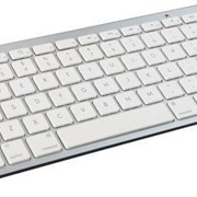 Ultra Thin White Bluetooth Keyboard