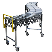 Mobile Expanding Twin Roller Conveyor