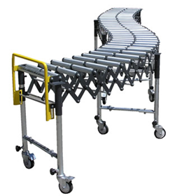 Mobile Expanding Roller Conveyors