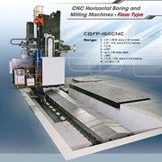 Eumach CNC  Floor Boring Machine