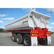 Tri- Axle Side Tipping Trailer