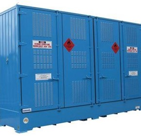 Dangerous Goods Storage | Outdoor Relocatable | 8000L Bulkibox
