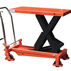1T Single Scissor Table Lifter/Trolley max table height 990mm