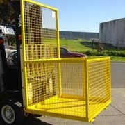 Forklift Safety Cage and Platform