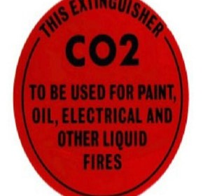 Identification Sign - Wet Chemical Fire Extinguisher
