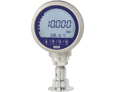 Precision digital gauge CPG1500 with tri-clover diaphragm seal