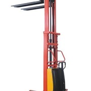 1.5t Semi-electric walkie stacker lift heigh various from 1.6m to 3.5m