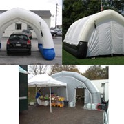 Inflatable Workstations and Shelters