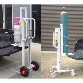 Gas Cylinder Lift Trolleys