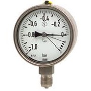 Pressure Gauge with High Overpressure Safety