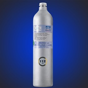 112 Litre Calibration Gas Cylinder