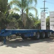 Tag Along Trailer - Tri Axle