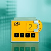 PITmode switch from Pilz - Dual-function operating mode selector switch