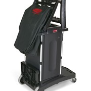 Compact Folding Housekeeping Cart