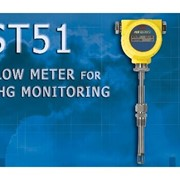 ST51 Greenhouse Gas (GHG) Flow Meter For Process & Plant Flue Gas Applications