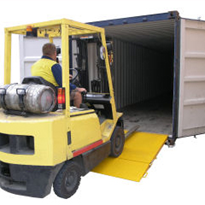 Container Access Ramps from Optimum Handling Solutions