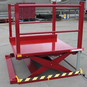 Qantas Catering Lifts With Low Height Scissor Lift Tables