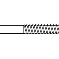 Coach Screws | Metric M10 x 80mm Hex Lag Screw | Zinc Plated