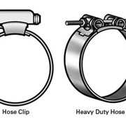 Stainless Hose Clips, Heavy Duty Hose Clips and Strapping Accessories