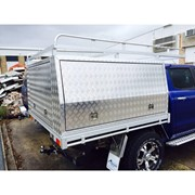 Standard Dual Cab Tray UTE Canopy Combo