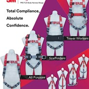 PRO Fall Protection Full-Body Harness Range | 3M