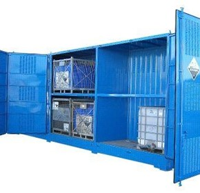 Dangerous Goods Storage | Outdoor Relocatable | 16,000L Bulkibox