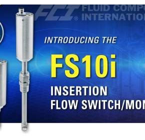SIL 2 Compliant FS10i Flow Switch/Monitor