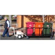 Tug and Waste Bin Trolley | Tug'n'Trailer