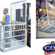 Forklift Safety Cage Attachments
