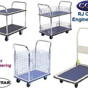 Platform Trolleys, Traymobiles & Worktainers