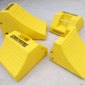 Monster Heavy Duty Mining Wheel Chocks