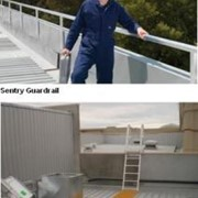 Sentry Guardrail & On-Trak Walkway