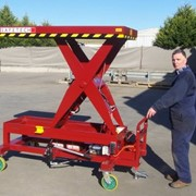 Battery Powered Scissor Lift Table