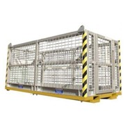 6 Person Crane Safety Cage Work Plaforms