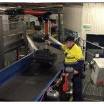 Airport Baggage Handling with Vacules