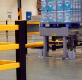 Traffic protection solution for distribution centre