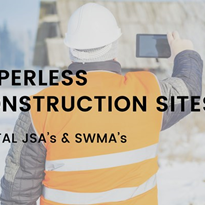 Paperless Construction Site: Digital JSA and SWMS