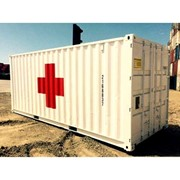 Shipping Container | Portable First Aid Rooms