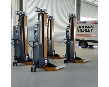 "Image ""Wireless"" Truck and Bus workshop hoists HETRA # RGA"