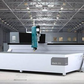 Waterjet Cutting Machine Flow Mach 200