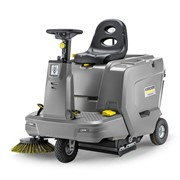 KM 85/50 R BP ride-on sweeper